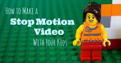 Ver traducción How to Make a Stop Motion Video With Your Makers #makerspaces #edtech vía @kids_adventures