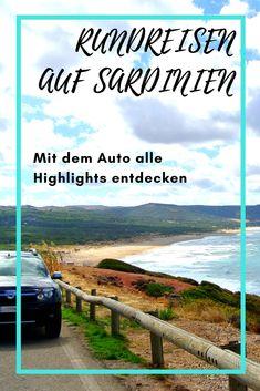 Schöne Rundreisen mit dem Auto auf Sardinien. Stellen Sie sich Ihre eigene Rundreise zusammen!