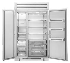 Want interior design inspiration? Then you can't miss the Architectural Digest Home Design Show. The. Glass Door Refrigerator, Counter Depth Refrigerator, Built In Refrigerator, Side By Side Refrigerator, Subzero Refrigerator, Refrigerator Organization, Best Appliance Brands, Kitchen Utensils Store, Best Appliances