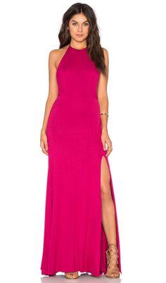 De Lacy Nikki Maxi Dress in Sangria   REVOLVE