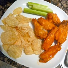 Homemade #Buffalo #chicken wings made by @BradHines for the #patriots game