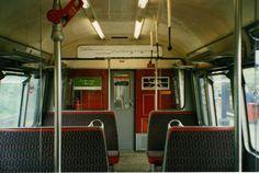 1960 'A' Stock - Original Interior Transport Museum, London Transport, London Underground Tube, Vintage London, Trains, Engineering, British, Interiors, Memories