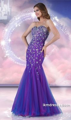 http://www.ikmdresses.com/2014-Sweetheart-Full-Beaded-Bodice-Bicolor-Prom-Dress-Tulle-Mermaid-Trumpet-p84822
