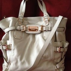 Michael Kors Purse- I have this in black, now need it in white!