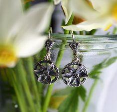 Bad, Brooch, Earrings, Daffodils, Ear Jewelry, Studs, Armband, Love, Nature