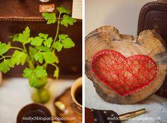 Miss Foch bloguje: Magiczna ósemka czyli serce z gwoździ :)
