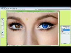 PS Photoshop Tutorial | a simple but very effective way to CHANGE the COLOR of your EYES avoiding a *fake* look #maxrambaldi