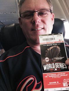 The World Series ticket!