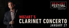 Wolfgang Amadeus Mozart: Overture to La clemenza di Tito, Concertone in C major, Horn Concerto No.3 in E flat major, Clarinet Concerto in A major – Detroit Symphony Orchestra, Leonard Slatkin – Saturday, January 28, 2017, 03:00 AM – Live on Livestream
