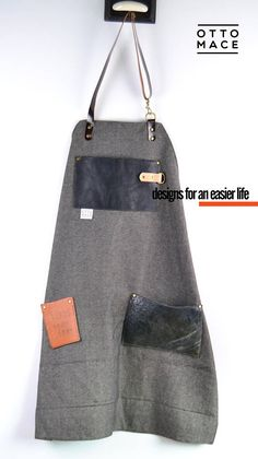 WOOL LEATHER Apron