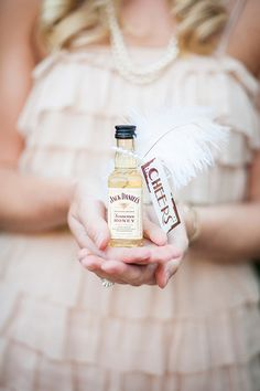 jack daniels wedding favor, my kind of favor ;)