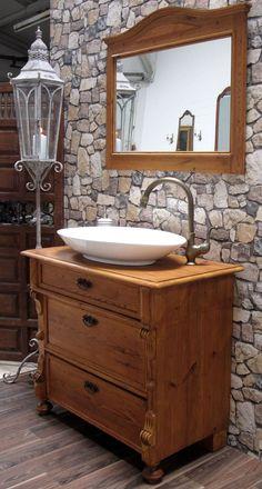 montcalm landhaus waschtisch von badm bel landhaus land und liebe badezimmergestaltung. Black Bedroom Furniture Sets. Home Design Ideas