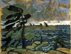 Arthur Lismer - The Canadian Encyclopedia Canadian Painters, Canadian Artists, Halifax Explosion, Franklin Carmichael, Dazzle Camouflage, Tom Thomson, Artists