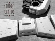 All work is done by StudioRihito @studiorihito instagram. Gundam bandai gunpla zaku zgok custommade ガンプラ ガンダム 改修 精密