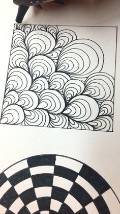 zen doodle patterns borders mandala drawing simple easy doodles zentangle mandalas blogetv line