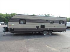 #A1364 - 2017 Forest River Grey Wolf 26RR on sale for $19,900.00 in Ashland VA: http://www.reinesrv.com/2017-forest-river-grey-wolf-26rr-new-toy-hauler-va-i1969766