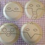 Mooie maskers knutselen van papieren borden