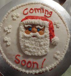 Santa cake!! :)