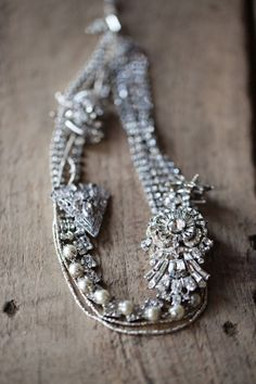 Jenny Ewing statement necklace.