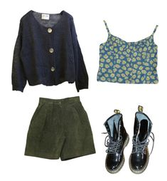 """Chilly night"" by ohwellitriedx on Polyvore featuring Contempo Casuals and Dr. Martens"