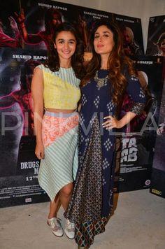 In Pics: Kareena, Shahid & Alia Stun at the Udta Punjab Press Meet! | PINKVILLA