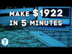 Learn to Day Trade and make $1,922 in 5min - YouTube