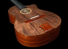 Cocobolo B&S, African Walnut top Concert Classical Guitar