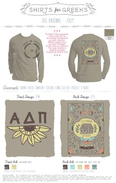 Alpha Delta Pi Shirts | ADPi Shirts | Sisterhood Retreat Shirts | Greek Life | Sorority Shirts | T-Shirt Ideas | Cute Designs | Cabin | Comfort Colors |   www.shirtsforgreeks.com