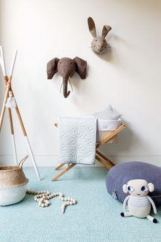 Идеи декора интерьера комнат для младенцев от Little Liberty фото 14