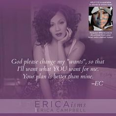 Erica Campbell quote.