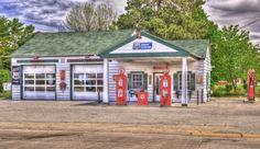 Rt 66 Gas Stations | Ambler-Becker Texaco Gas Station – Nikon D3X – Nikon 24-70mm lens ...