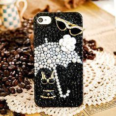 Handmade Bling Bling Bikini Camellia Crystal Rhinestone diamond case cover for iphone5 iphone4 and 4S