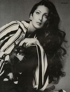 I'm on a weird 70's Cher kick at the moment. Loving this hair!