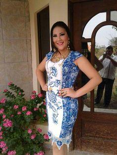#vestidoestilizado lucido por Valeria Espinosa