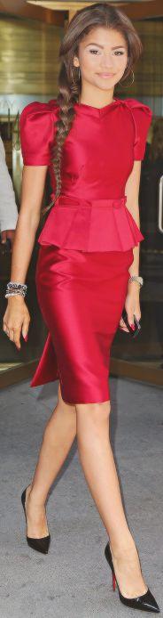 Focus On fashion: Zendaya Coleman -- not exactly red carpet, but celeb nonetheless