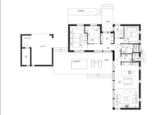 Messujen ennakkosuosikkini ei pettänyt - Sisustus ja Sepustus Modern House Plans, Minimalist Home, Own Home, Floor Plans, Diagram, Layout, Cottage, Flooring, How To Plan
