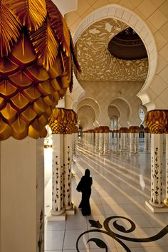 Beno's award winning photo of Sheikh Zayed Mosque in Abu Dhabi, UAE