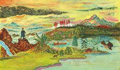 Kunst und Natur: In seinen Bildern und Texten gelingen ATAK immer wieder...