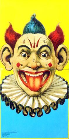 crazy clown pin game