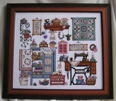 Sew Cozy (Lynn Waters Busa design)