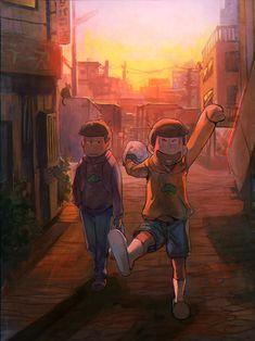 Ichimatsu and Juushimatsu