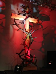 They said the project cost them $60 total. I assume that does not include the expense of the cross.