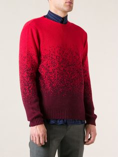 Paul Smith, Gradient Sweater (Red)