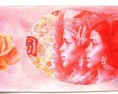 Carte postale et son enveloppe décorée. http://www.alittlemarket.com/cartes/carte_postale_et_son_enveloppe_decoree_les_filles_version_-4387755.html