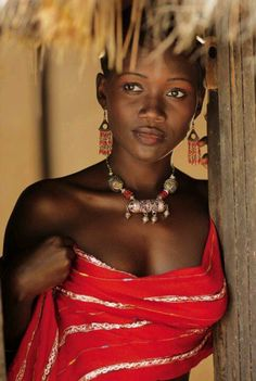 Beautiful model from the Ivory Coast