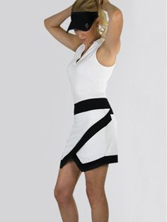 Crossover golf skort. Love it! #golf4her