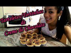 #VEDA7 Como fazer Tortinhas de Creme de Chocolate