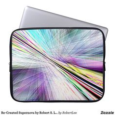 Re-Created Supernova by Robert S. Lee Laptop Sleeves#Robert #Lee #art #Neoprene #Laptop #Sleeve #graphic #design #colors #sleeve #electronics #tech #laptop #mac #apple #girls #boys #men #women #ladies #style #for #her #him #gift #want #need #love #customizable