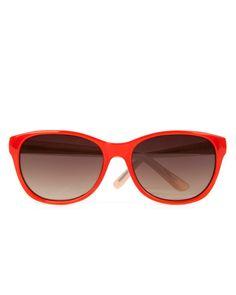 576623961 Ted Baker - Aug 2014 - Round trapeze sunglasses - Orange