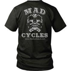 Mad Cycles Tee